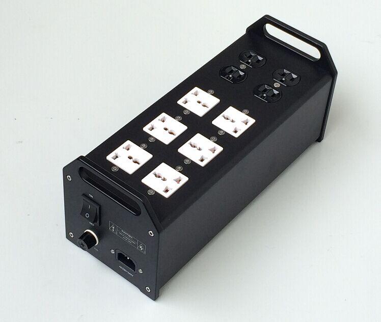 C-030 High-End AL CNC PW1 4000W 20A szwajcaria Schaffner filtr Audio zasilanie prądem zmiennym gniazdo wsparcie AC 90V ~ 240V wejście