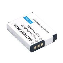 1500mAh EN-EL12 Batterie pour Appareil Photo Nikon CoolPix S610 S610c S620 S630 S710 S1000pj P300 P310 P330 S6200 S6300 S9400 S9500 S9200