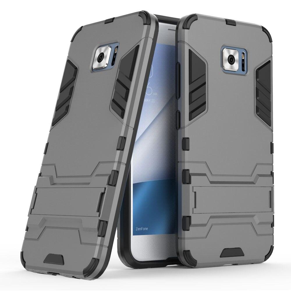 Funda protectora híbrida de doble capa para ASUS Zenfone 4 V con...