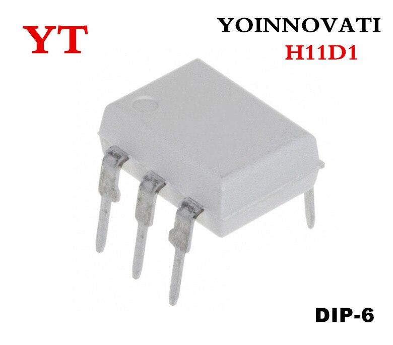 20 pces h11 h11d1 optoiso 4.17kv trans com base dip6