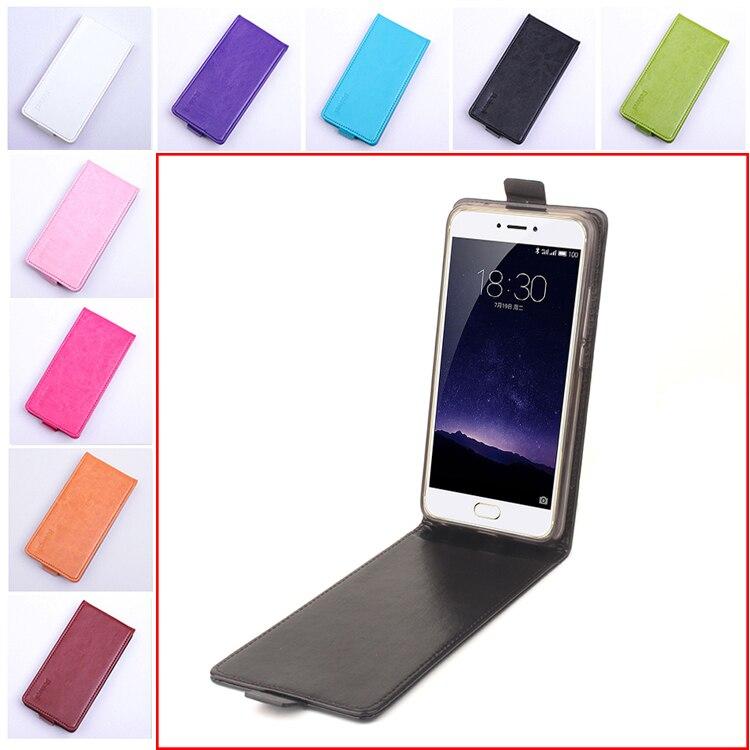 Funda de cuero de lujo de 9 colores de alta calidad para MEIZU MX6/Pro6 funda de silicona con tapa MEIZU MX6 Pro 6 teléfono móvil casos de teléfono