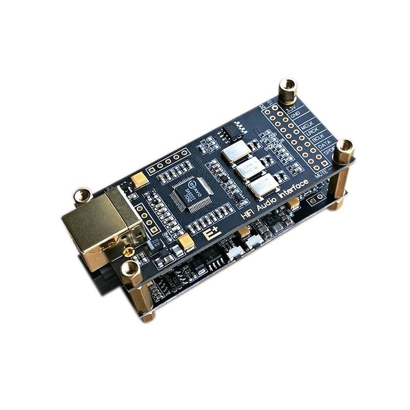 SA9227 + ES9038Q2M producto decodificador hifi fiebre de sonido USB-Convertidor de tarjeta Suite apoya DSD