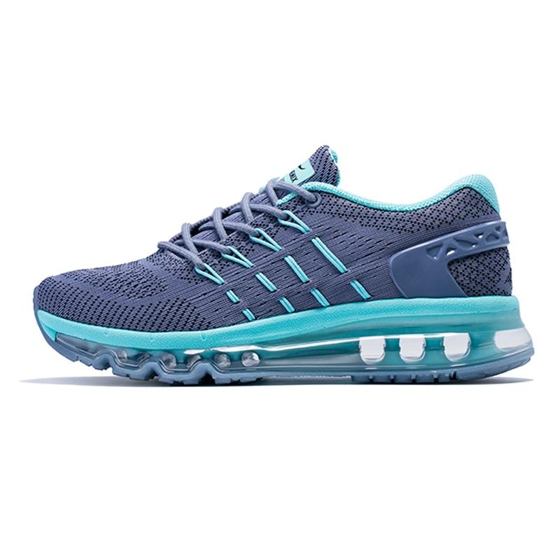 Купить с кэшбэком Onemix Women Sneakers air cushion running shoes Brand outdoor female breathable for Woman Comfortable Athletic Training Footwear