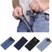 waist belt Elastic Waist Extender Strong Adjustable Pants Button Easy Fit creative belts d90422