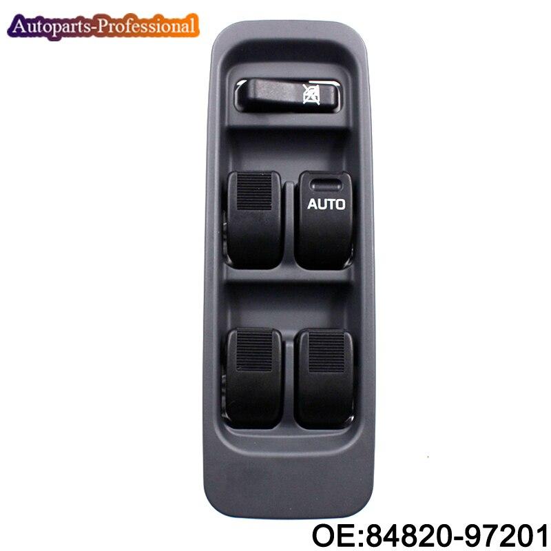 Novo 84820-97201 84820-B5010 Para Daihatsu Sirion Terios Serion YRV 1998-2001 RHD Interruptor Da Janela de Poder Mestre direita lado