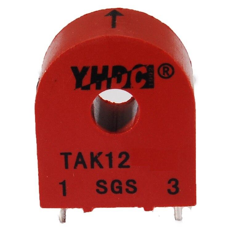 Envío Gratis YHDC TAK12-01 20A/0.2A 1 100 voltaje de trabajo 660V Mini transformador de corriente de alta frecuencia montado en PCB