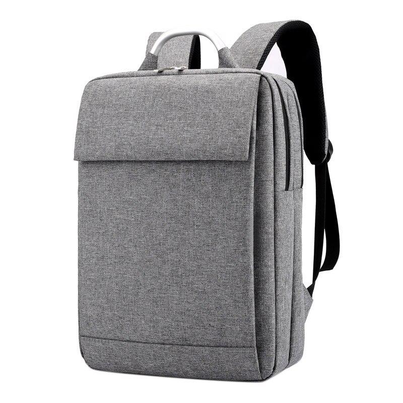 PPYY nuevo-maletín de portátil de lona para portátil de 15,6 pulgadas bolsas de cuaderno impermeable mochila de viaje