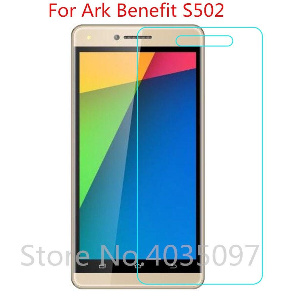 Para Ark Benefit S502 vidrio templado película protectora ultrafina a prueba de explosiones para pantalla Ark Benefit S502 protector