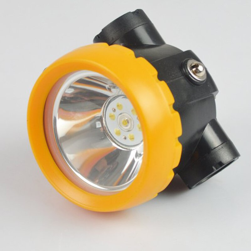 36 PCS/LOT Cordless LED Miner Cap Lamp Miner's Headlamp Mining Lights enlarge