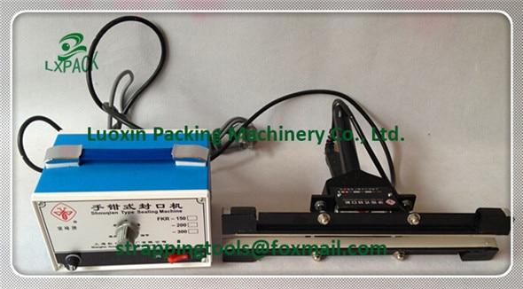 LX-PACK Lowest Factory Price 8'' 12' 16' Portable Bag Sealer for Cellophane, Foil Portable Bag Sealer for Cellophane, Foil