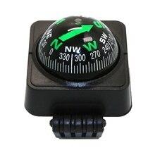 Quantité élevée portative extérieure de boussole dangle réglable de boule de Guide de mini boussole de voiture