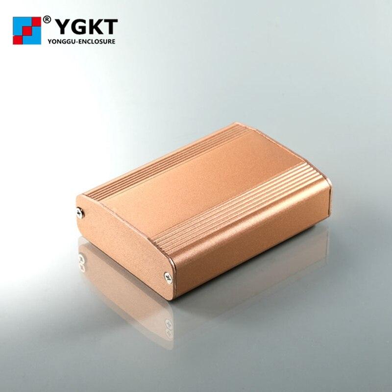 YGK-004-1 61*22.4*80/2.4 ''* 0.88'' * 3.15 ''mm (wxhxl) مخصص الألومنيوم حالة ل الإلكترونية