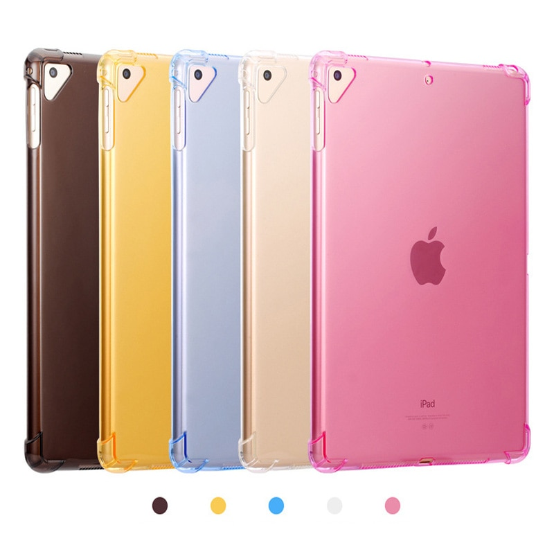 Чехол для iPad 10,2 2019 ''прозрачный силиконовый с подушкой безопасности задняя крышка для iPad 7го поколения A2200 A2198 A2232 A2197 Мягкий ТПУ чехол