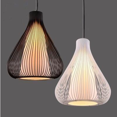 مصباح معلق من الحديد على شكل قفص عصافير ، تصميم شمالي ، مثالي لغرفة المعيشة ، أو المطعم ، أو المكتب ، أو المطبخ أو الدور العلوي.