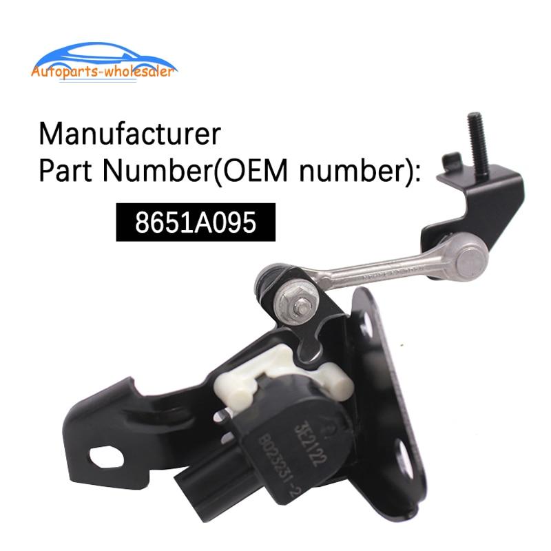 Nuevo foco Sensor de nivelación para Mitsubishi Outlander Lancer EX CW_W Sensor de altura de suspensión delantera coche 8651A095