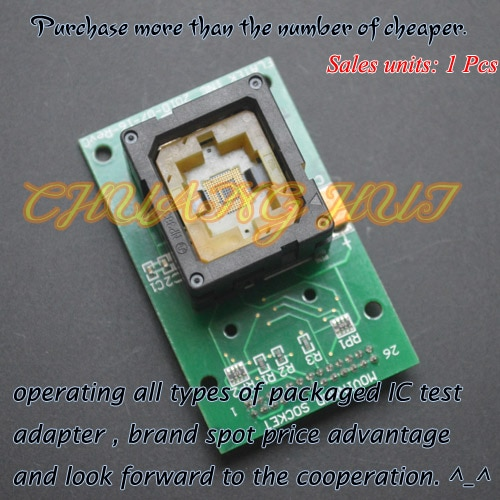 IC TEST BGA test socket eMMC 169/153 IC test socket Pitch=0.5mm Size=11.5X13mm