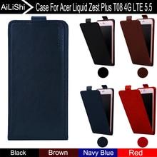 AiLiShi Für Acer Liquid Zest Plus T08 4G LTE 5,5 Fall Up Und Down Vertical Telefon Flip Ledertasche Handy-zubehör Tracking