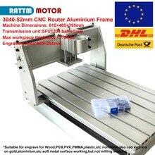 CNC 3040 ruoter maschine aluminium Rahmen DIY 390x285x55mm SFU1204 kugelumlaufspindel für CNC router fräsen maschine