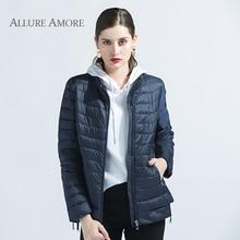 Spring Coat Women Winter Jacket Women Coat Office Lady ukraine Women Short Clothes Windproof Female New Design AllureAmore 2018
