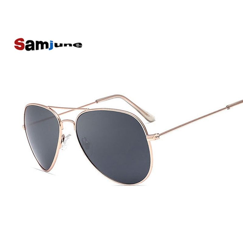 Samjune Polarized Sunglasses Aviation Sunglasses Men Sun Glasses Driving Glasses Mirror Goggle Eyewe