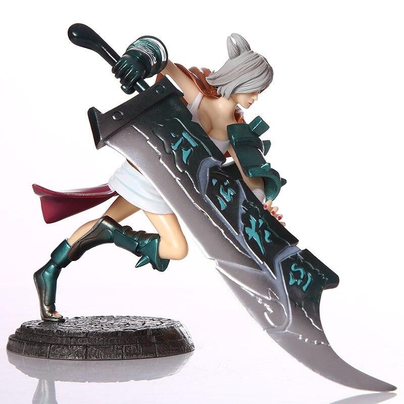 3 personajes de la Liga de conejo de Ruiwen, modelo regalo, figura Legends sin caja
