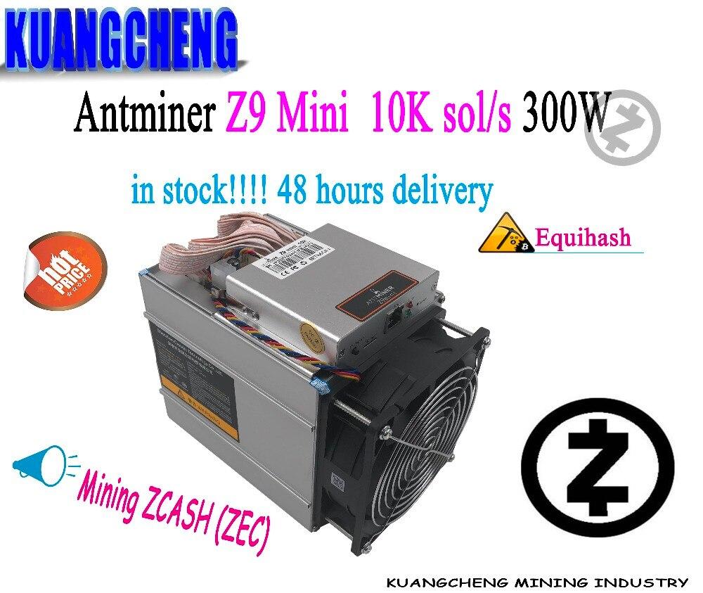 Майнер KUANGCHENG 80-90%, новый Antminer Z9 mini 10k sol/s Z9, Майнер без блока питания, ASIC Equihash, Майнер ZCASH может быть разогнан до 12 к/с