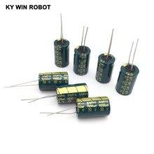 10 pz Alluminio condensatore elettrolitico 1000 uf 50 v 13*20mm frekuensi tinggi Radial Electrolytic kapasitor