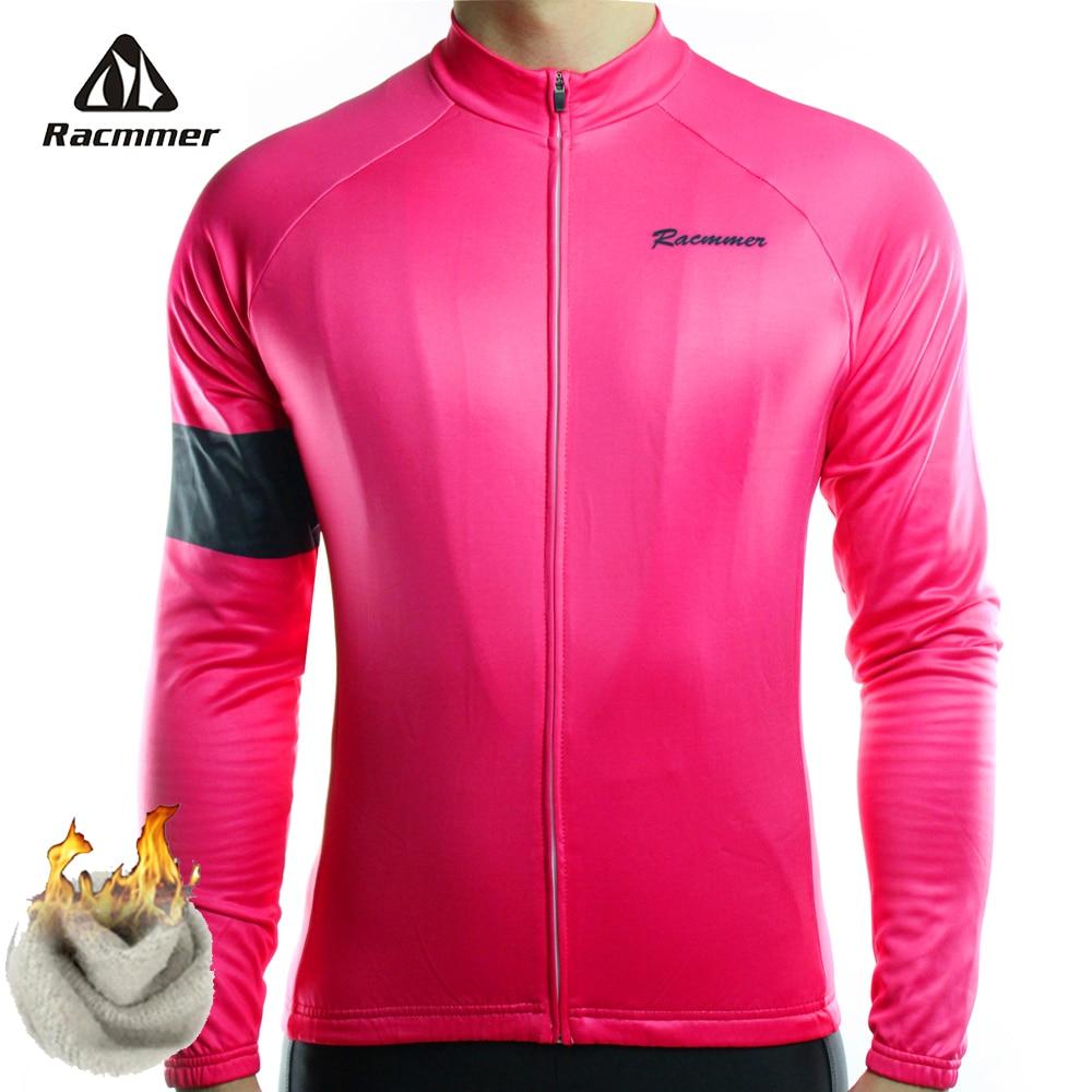 Racmmer 2020 maillot De cyclisme hiver vélo Long vélo thermique polaire Ropa Roupa De Ciclismo Invierno Hombre vtt vêtements # ZR-22