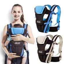 Bébé sac à dos transporteur nouveau ergonomique bébé fronde respirant multifonctionnel face avant kangourou bébé sac 2-30 mois écharpe pour bébé