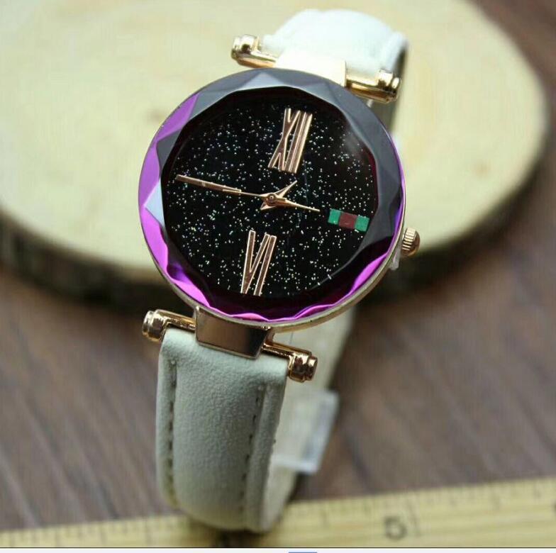 Luxury Brand Quartz Watch Women Ladies Starry Sky Fashion Wristwatches Clock female relogio feminino