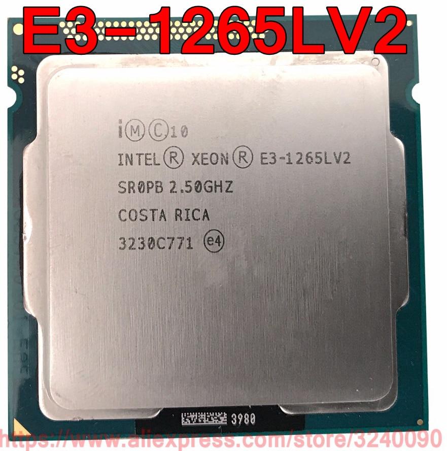 CPU Original Intel Xeon E3-1265LV2 procesador 2,50 GHz 8M E3 1265L V2 Quad-Core LGA1155 E3-1265L V2 envío gratis rápido envío