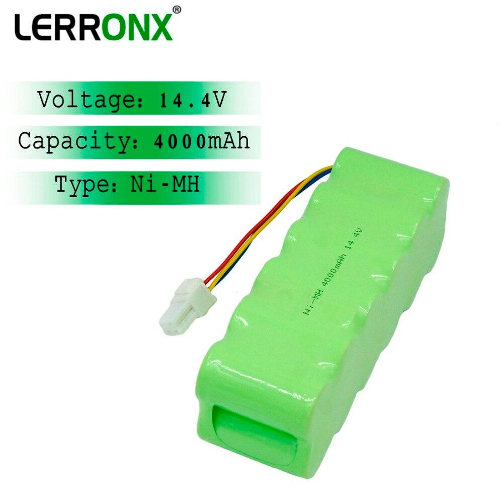 Batería recargable de repuesto Ni-MH de alta capacidad de 4.0Ah 14,4 V para aspiradora Samsung NaviBot SR8855 SR8845 SR8840 SR8895