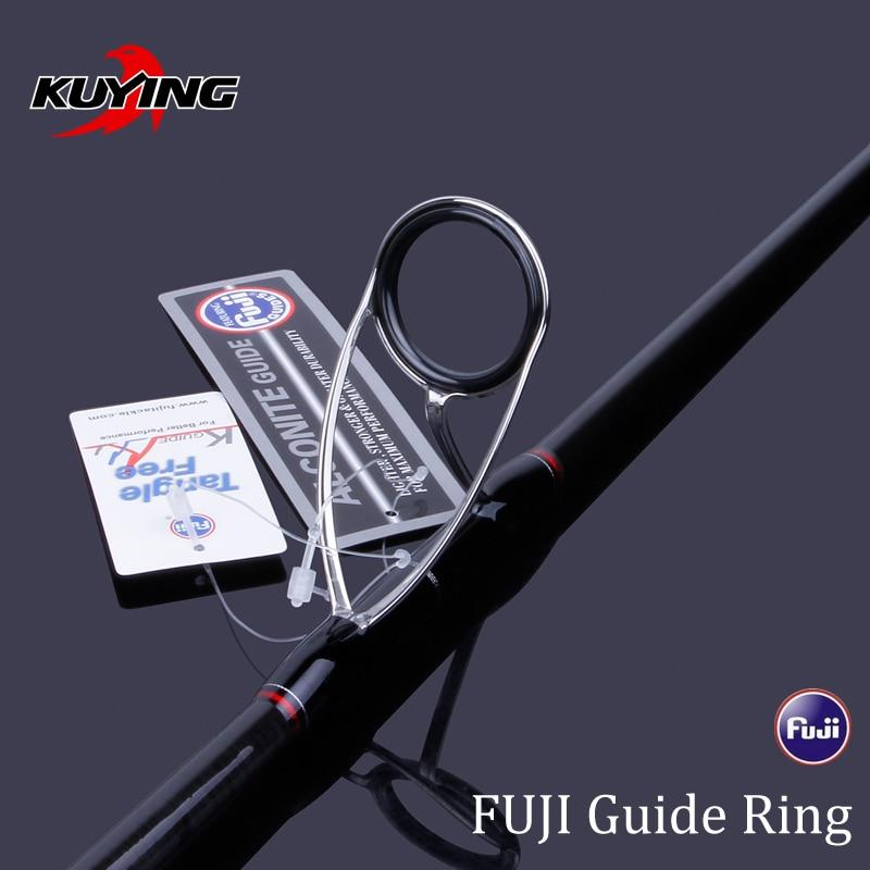 KUYING DEEP BLUE 1.56m 1.68m 1 Section Lure Fishing Jigging Rod Casting Spinning FUJI Parts Carbon Fiber Rods Cane Stick DeepSea enlarge