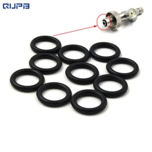 Уплотнительные кольца для нитриловой резины, 300 бар, DIN, 10x2,5, 50 шт./100 шт. в упаковке, бесплатная доставка, ORB003