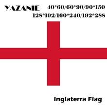 YAZANIE-drapeau personnalisé National, croix de leuro, coupe dangleterre, 60x90cm/90x150cm/120x180cm/160x240cm