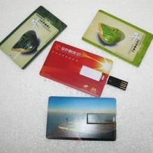 Card USB Drive Pen Driver 4GB 8GB 16GB 32GB Memory Card USB Creativo Personal LOGO Wholesale Brand Promotion Usb Flash Drive