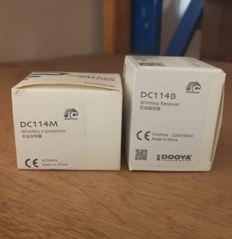 Беспроводной приемник Dooya для умного дома, 433 МГц, управление для всех видов моторизованный карниз или моторов, бесплатная доставка
