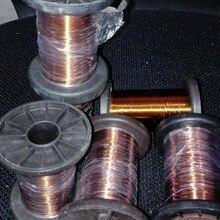 Fil de cuivre mince isolé 0.75mm F 180 degrés   Fil de cuivre mince isolé