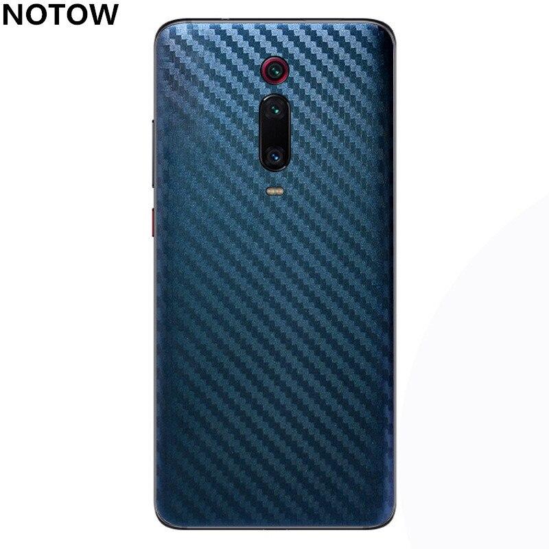Funda trasera de lámina protectora para móvil de NOTOW fashion decoloration sticker para xiaomi redmi K20/K20pro/note7/note7pro/7