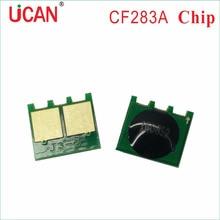 5 pièces Cartouche De Toner Puce pour HP CF283A CF283X M125 M126 M127 M128 M201 M202 M225 MULTIFONCTION Laser Cartouches De Toner Dimprimante