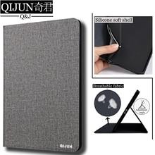 """QIJUN, carcasa para tableta con tapa para Huawei MediaPad T3 de 7,0 """", 3G, funda de piel sintética con soporte, carcasa de silicona blanda, fundas, capa, Tarjeta para BG2-U01"""