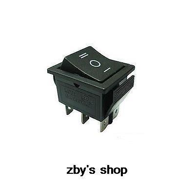 (5) interruptor basculante 3 P 15/30A 6 pines DPDT NO/OFF/NO delantero-Stop-reverso