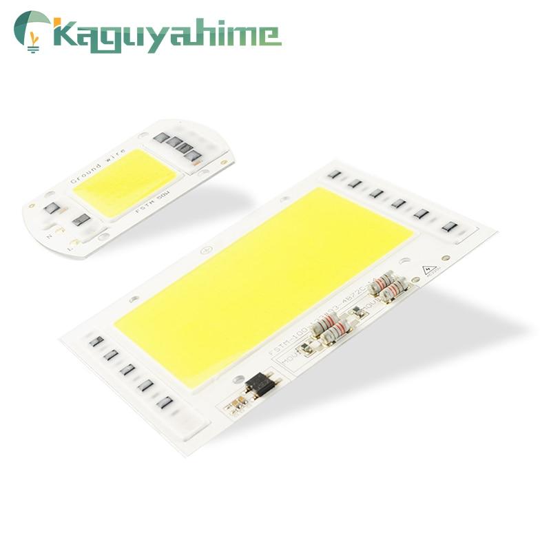 Kaguyahime crecimiento/blanco integrado lámpara LED COB Chip AC 220V 5W ~ 100W 30W 20W 10W controlador IC inteligente para DIY foco reflector
