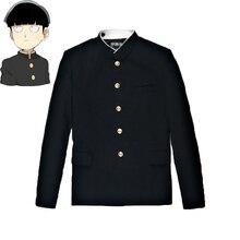Mob Psycho 100 Mobu Saiko Hyaku Kageyama Shigeo cosplay kostuum zwarte Gakuran Suits Broek S-4XL