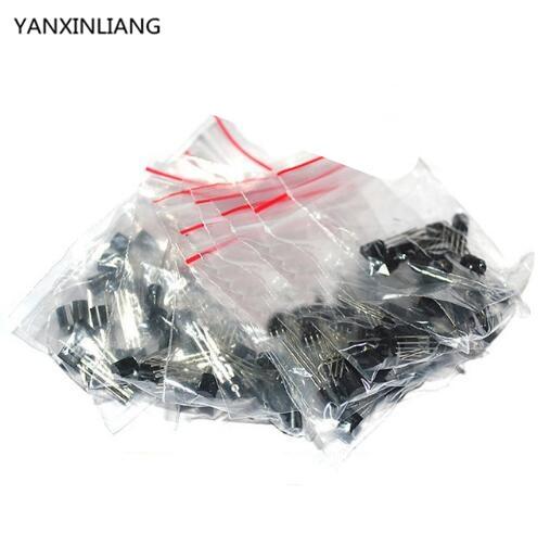 30 unids 78L05 78L08 78L09 78L06 78L12 78L15 6 valores cada uno 5 unids paquete de Transistor Clasificó el Kit
