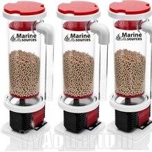 Super high-effect Marine Source Bio-pellets Reactors #BRD1.2 Marine Skimmer Aquarium W/D900 Red Devil Chamber Pump W/300ML Beans