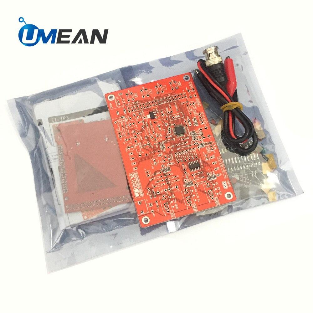 2.4inch TFT Digital Oscilloscope DSO Assembled Kit DSO138 DIY Learning Soldered Parts  STM32 Tester