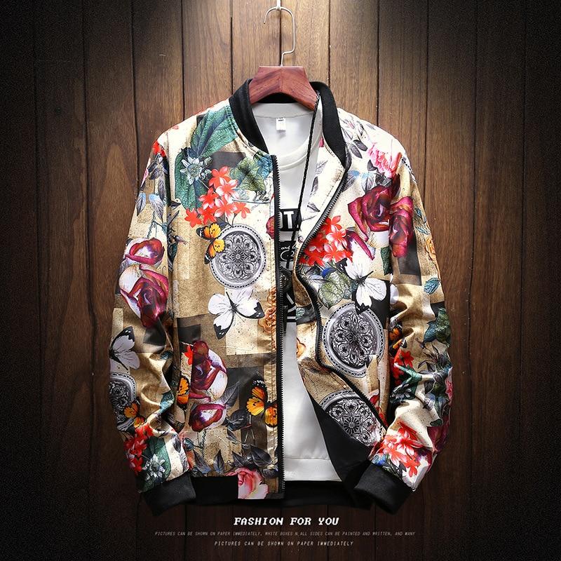 6 стилей моды весна 2020 новая печать повседневная куртка мужская Японская уличная Дизайнерская одежда плюс Азиатский размер M-XXXL 4XL 5XL