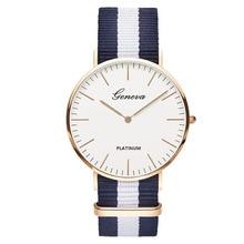 2020 New Luxury Brand Nylon Fashion Bracelet Quartz Watch Women Men Ladies Wrist Watch Wristwatches