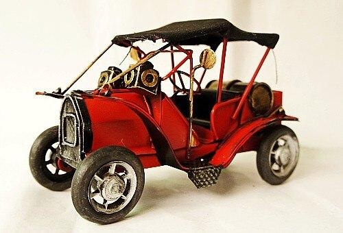 Modelo de coche Vintage coches clásicos regalo de negocios/regalo de cumpleaños Pub/tienda/decoración del hogar colección de accesorios de fotografía